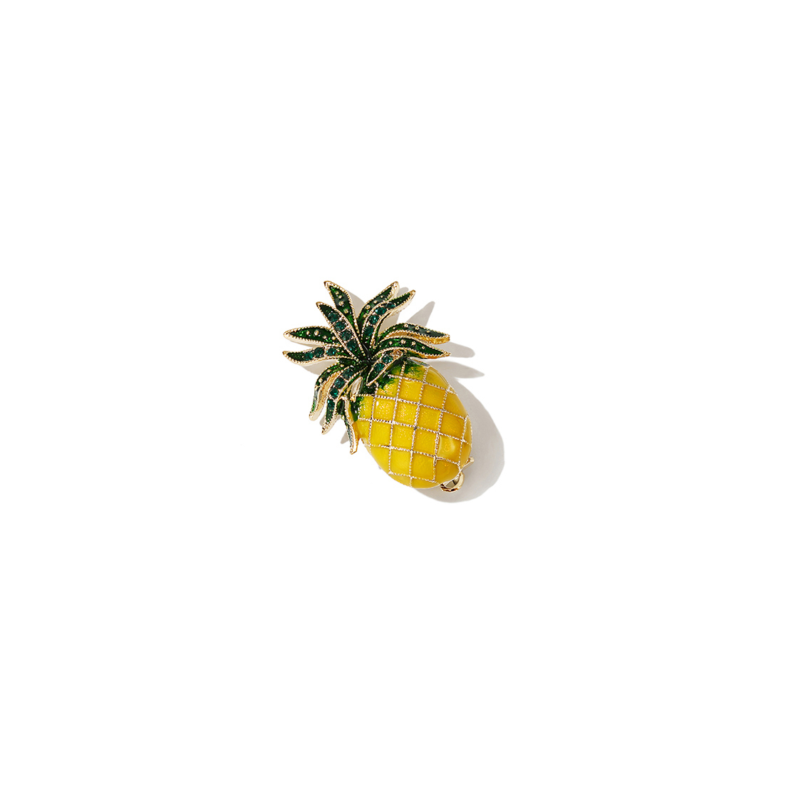Pineapple Summer Brooch
