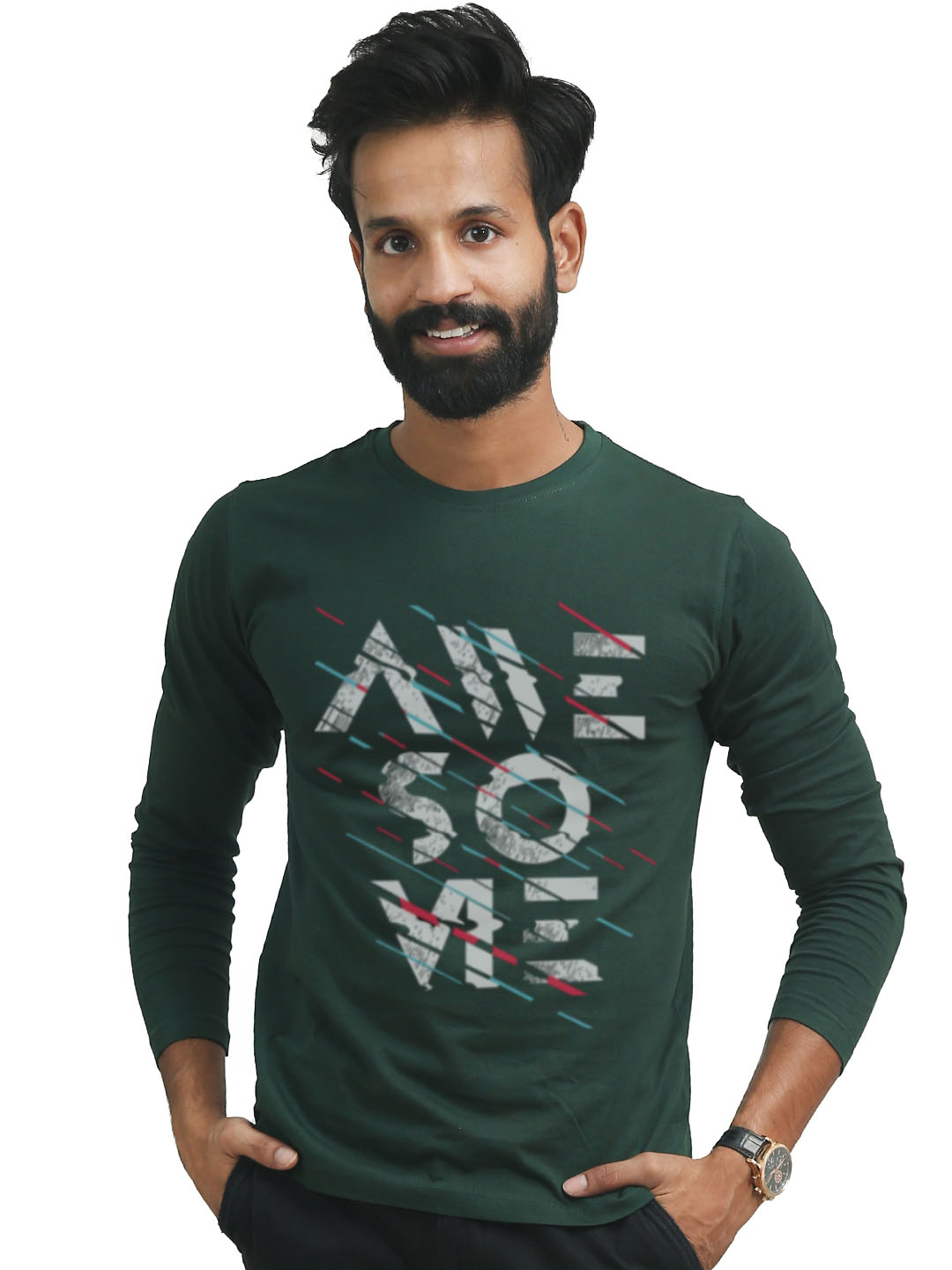 Awesome Full Sleeves T-shirt