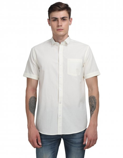 Roger Mens Cotton Casual Shirt