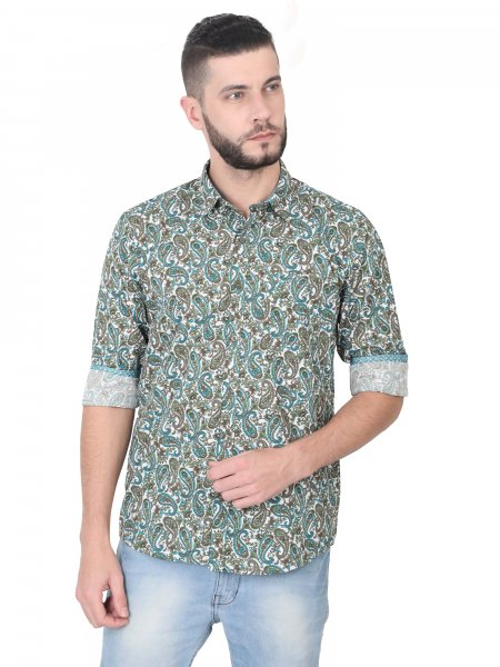Mark Paisley All-over Mens Shirt