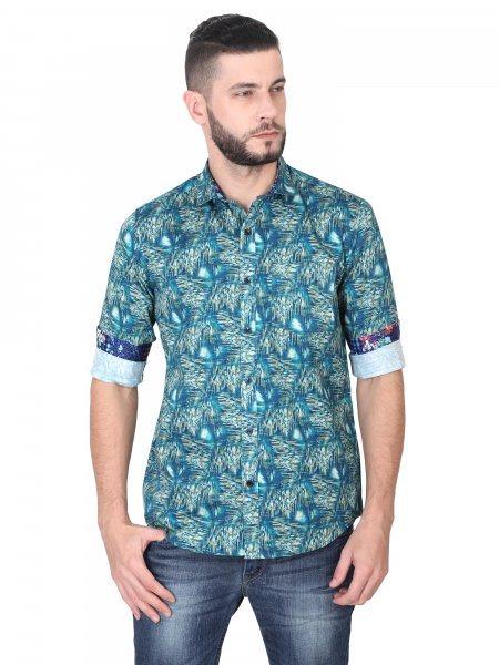 Hayden Mens Printed Casual Shirt