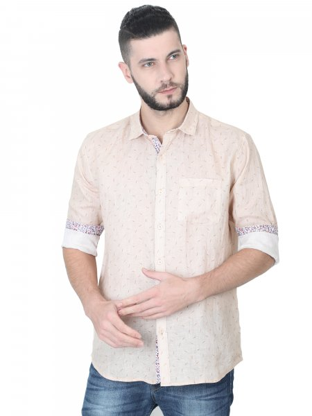 Gregor Mens Linen Casual Shirt